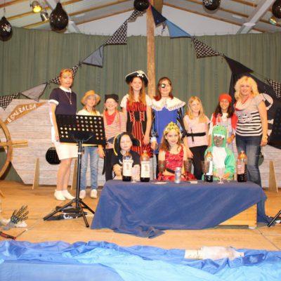 Piratenaufführung der Musikschule Klangstufe